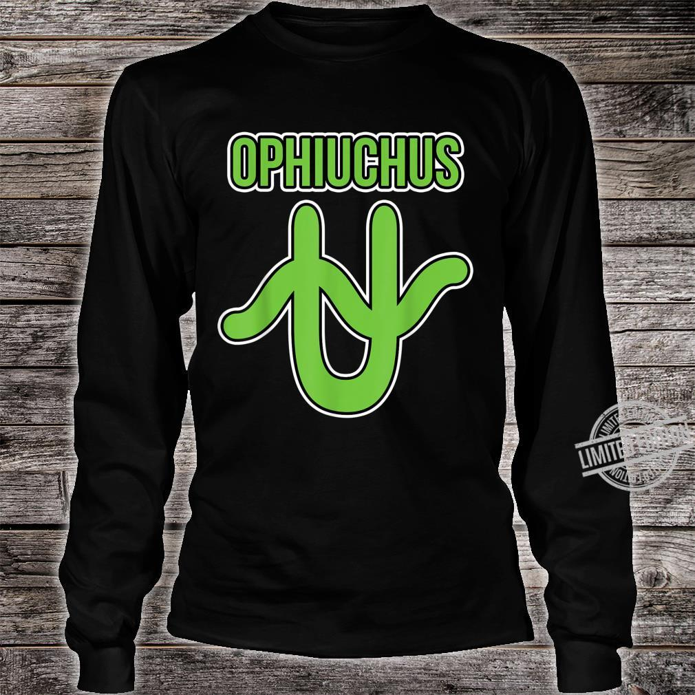Ophiuchus Zodiac Symbol Shirt long sleeved