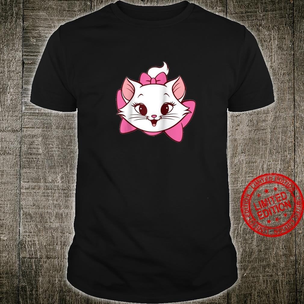 Women Marie Cat Aristocats Tee, Cartoon Kitty, Plush Shirt
