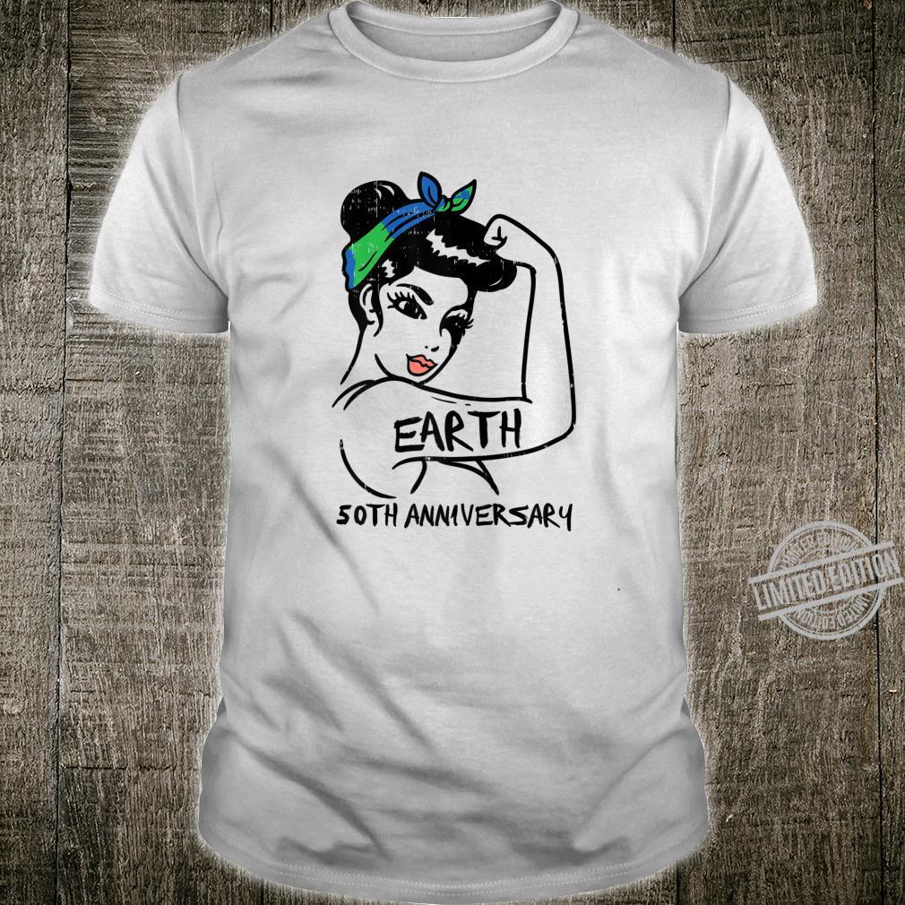 Womens Unbreakable Earth 50th Anniversary 19702020 Shirt