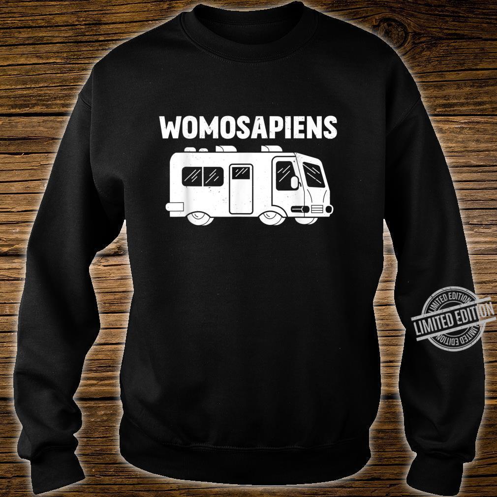 Womosapiens Wohmbobil Liebe Wohnwagen Rente Campingbus Shirt sweater