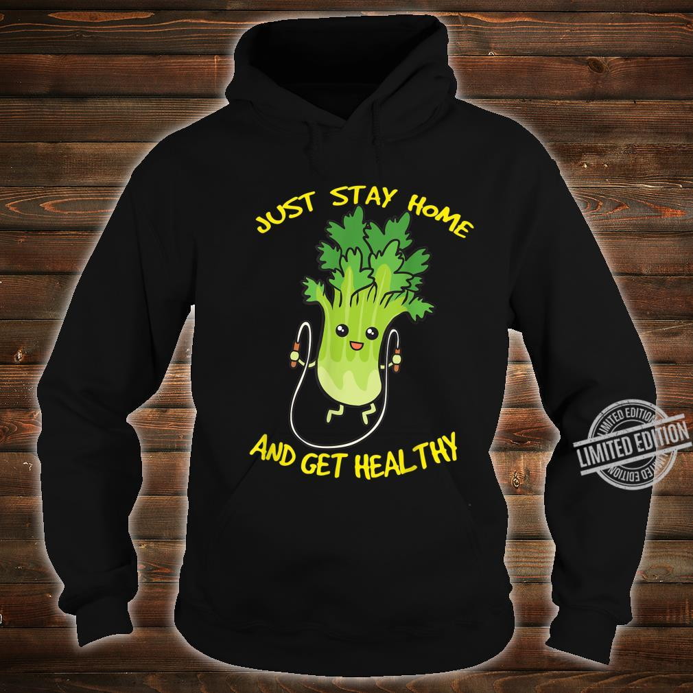 Workout Jump Rope Healthy Celery Gym Shirt hoodie