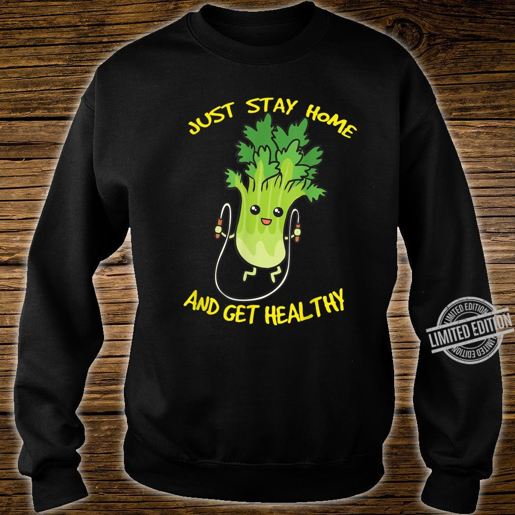 Workout Jump Rope Healthy Celery Gym Shirt sweater