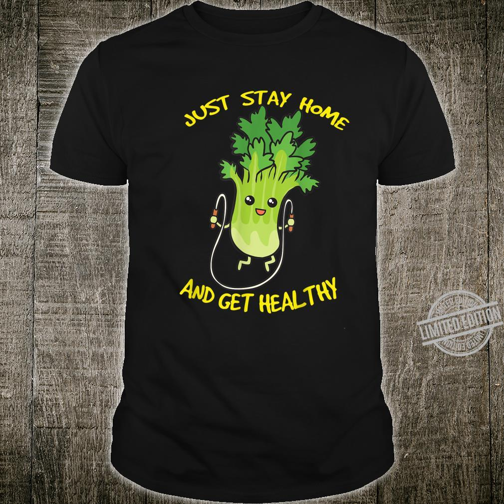 Workout Jump Rope Healthy Celery Gym Shirt