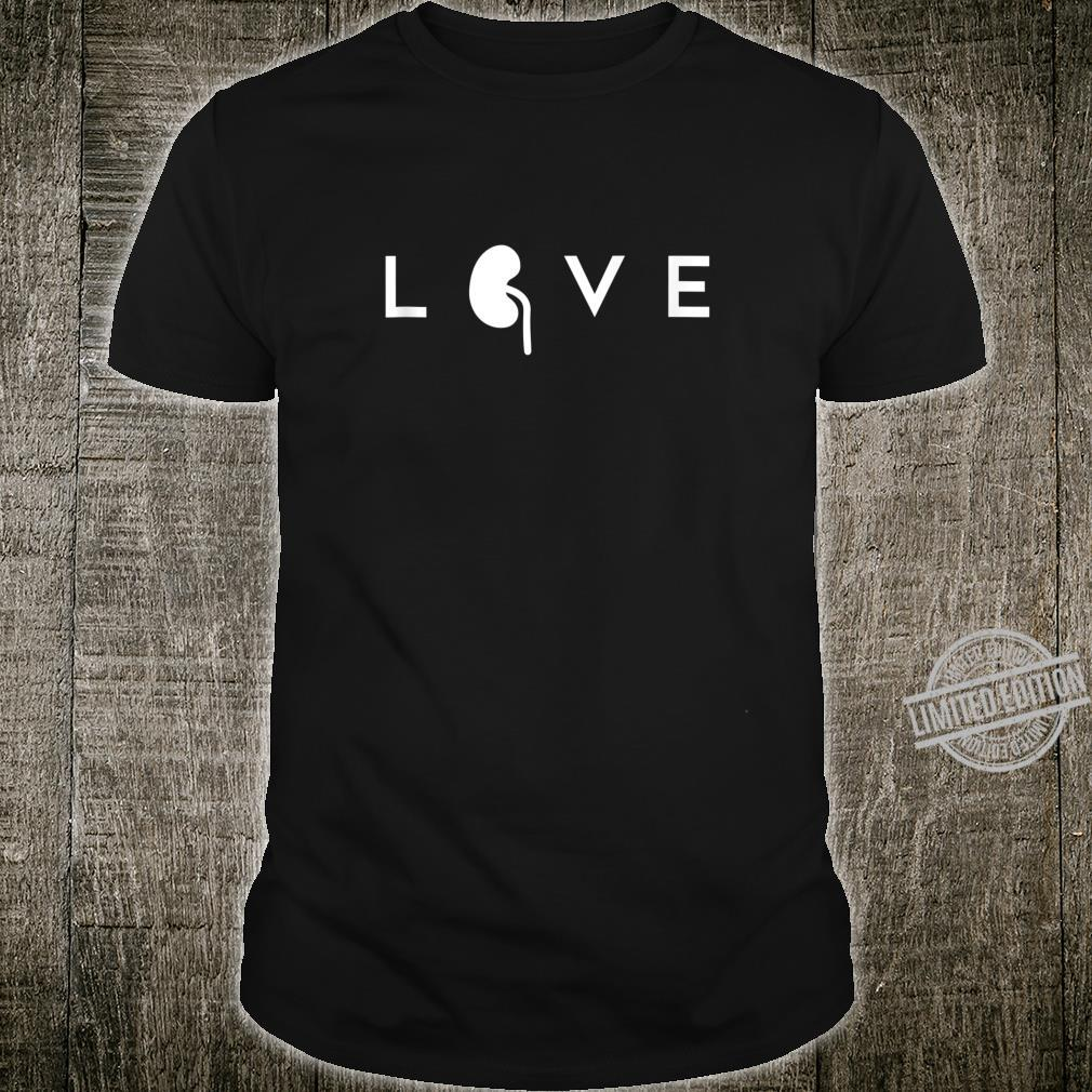 World Kidney Day Awareness Campaign Outfit Health Care Love Shirt