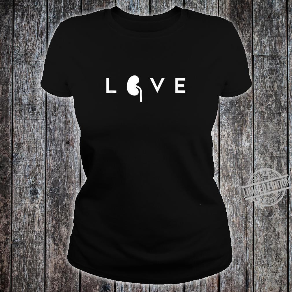 World Kidney Day Awareness Campaign Outfit Health Care Love Shirt ladies tee