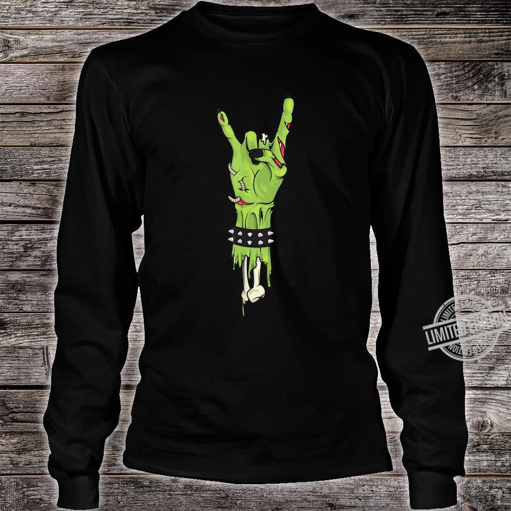 Zombies Rocks Shirt long sleeved