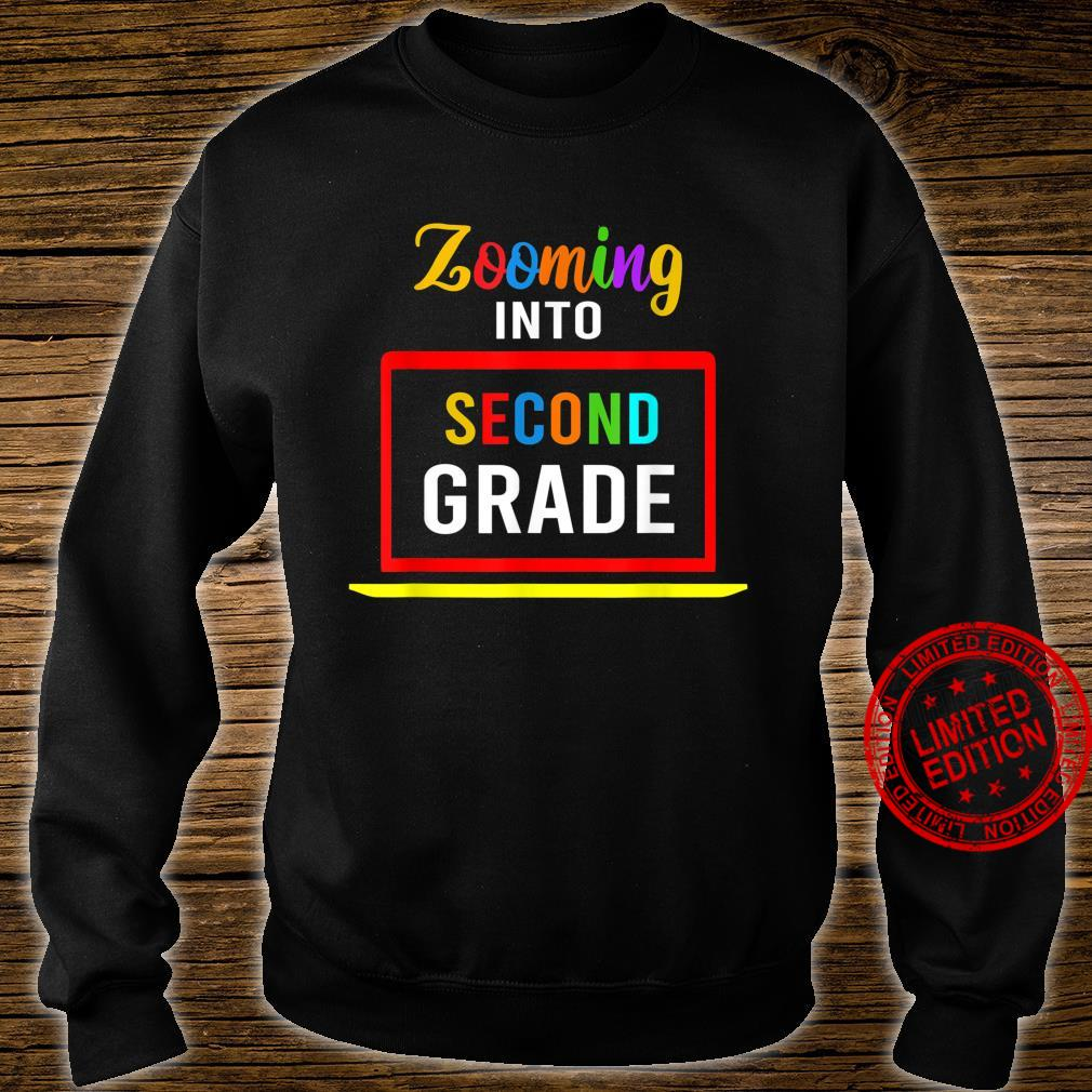 Zooming Into 2nd Second Grade Virtual Back to School 2020 Shirt sweater
